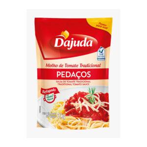 Molho Tomate Pedaço Bag 2kg